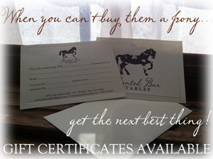 Gift Certificates Available for Sale