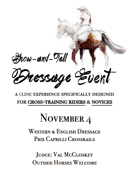 Show and Tell Dressage Clinic